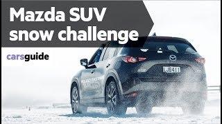 Mazda CX-5, CX-8 and CX-9 2018 snow review