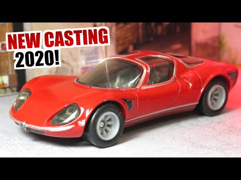Hot Wheels '69 Alfa Romeo 33 Stradale - Boulevard (New casting 2020!) 19