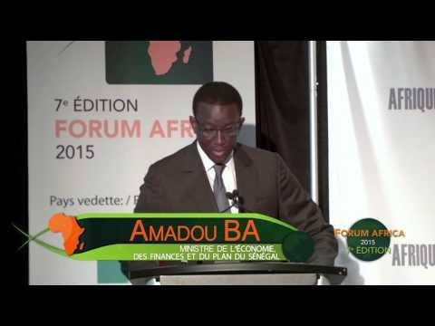 Ouverture officielle de la journée du Sénégal