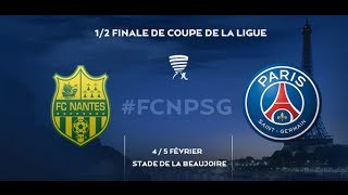 Football Club de Nantes - Paris Saint-Germain [PES 2014] - Coupe de la Ligue (Demi-finale)