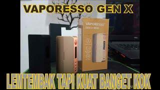 VAPORESSO GEN X, Riטiew And Tips Kuat banget lo Ini !!
