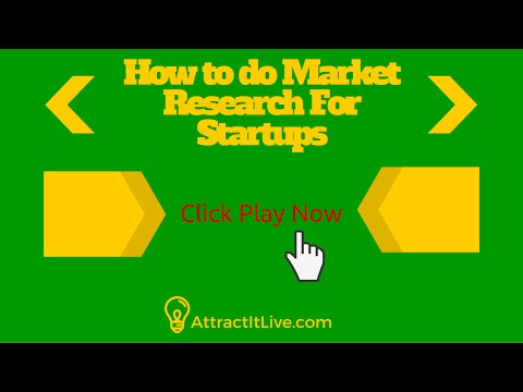 Market Research For Startups