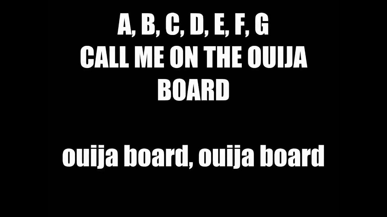 Sharon Needles Call Me On The Ouija Board Lyric Video Call