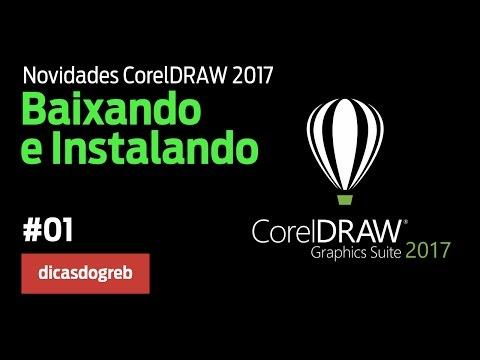 CorelDRAW 2017 - Baixando e Instalando