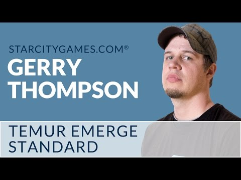 Standard: Temur Emerge with Gerry Thompson - Round 1 [MTG]