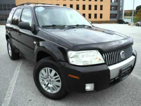 2006 Mercury Mariner Luxury 4wd V6 Fully Loaded Clean Carfax Free Warranty Akron Ohio