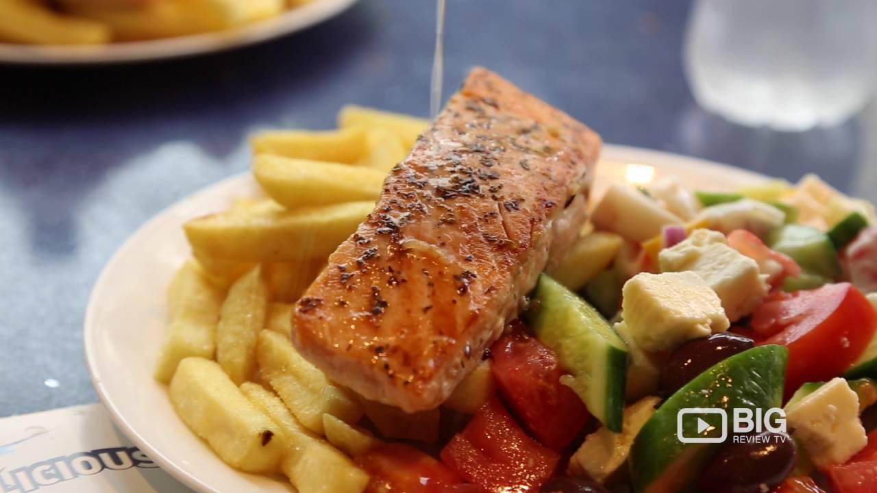 Restaurant Fishalicious Salmonsalad