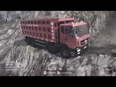 MudRunner A Spintires Game :new map : laluna 9360p  