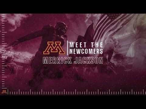 Merrick Jackson: Meet the Newcomers (Gopher Football 2016)