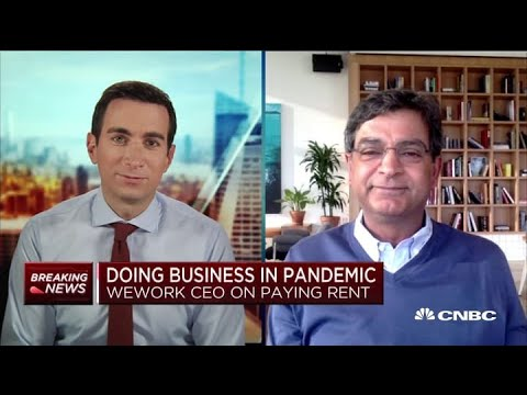 WeWork CEO Sandeep Mathrani On Future Of Work Amid Crisis In His First TV Interview