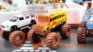 Toy Monster Trucks show For Kids