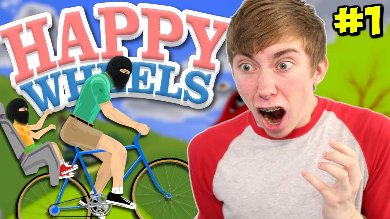 Let 39 s play happy wheels terrorists part 1 youtube - Let s play happy wheels ...