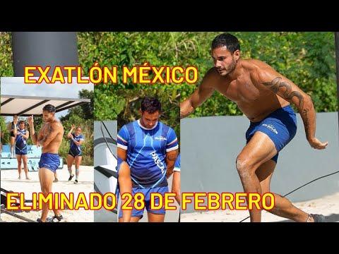Quién es el eliminado del 28 de febrero en Exatlón México