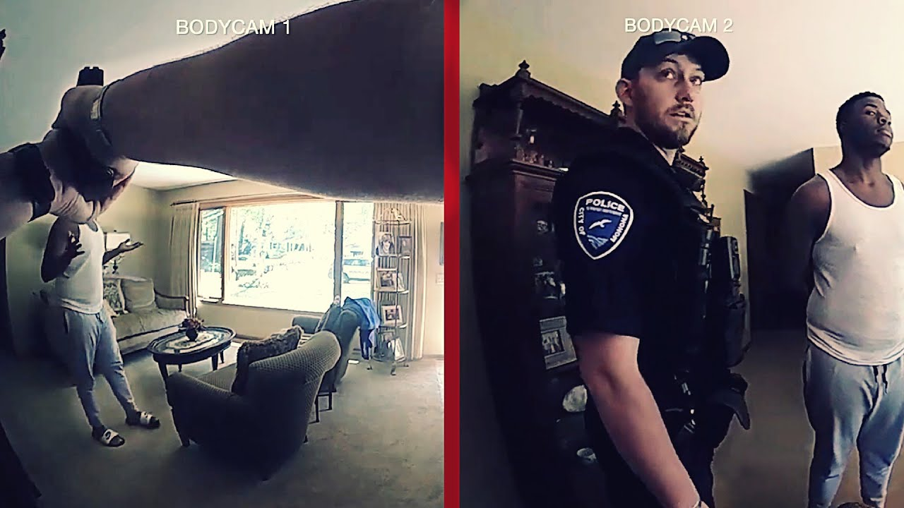 "SUSPECT SUES: ""Come Out with Your Hands Up""...""Sorry to Ruffle Your Feathers"" Double Body-Cam Sync"