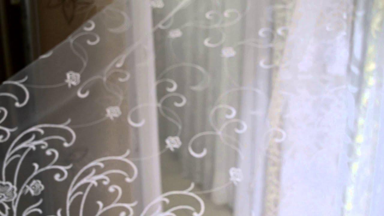 шторы из фатина фото