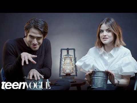 Lucy Hale and Tyler Posey Play Truth or Scare  Teen Vogue