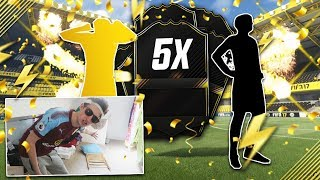 OPENING 5 GUARANTEED ONE TO WATCH SBC PACKS!! - FIFA 17 OTW SBC PACK OPENING