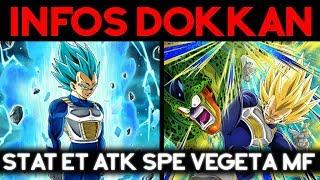 INFOS DOKKAN - Atk spé et statistique du Vegeta MF !!!