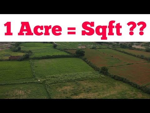 How many Square Feet in a Acre | 1 Acre | Square feet in Acre | 1 Bigha | 1  Acre equal to sqft