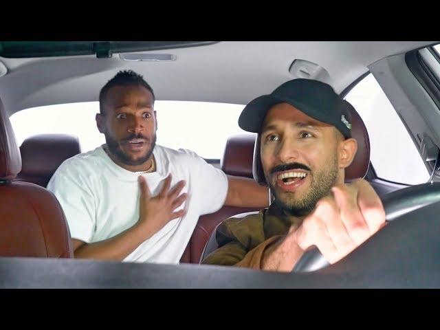 Annoying Uber Driver | Anwar Jibawi & Marlon Wayans