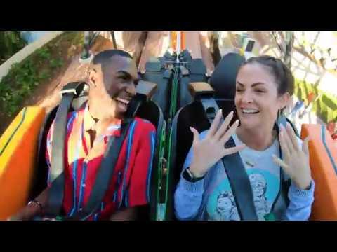 Katie Sommers - WATCH: Katie Rides Busch Gardens Tampa Bay's Newest Roller Coaster, TIGRIS!