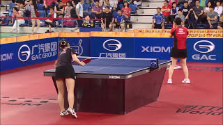【韓国OP2015】女子シングルス決勝 伊藤美誠vs福原愛