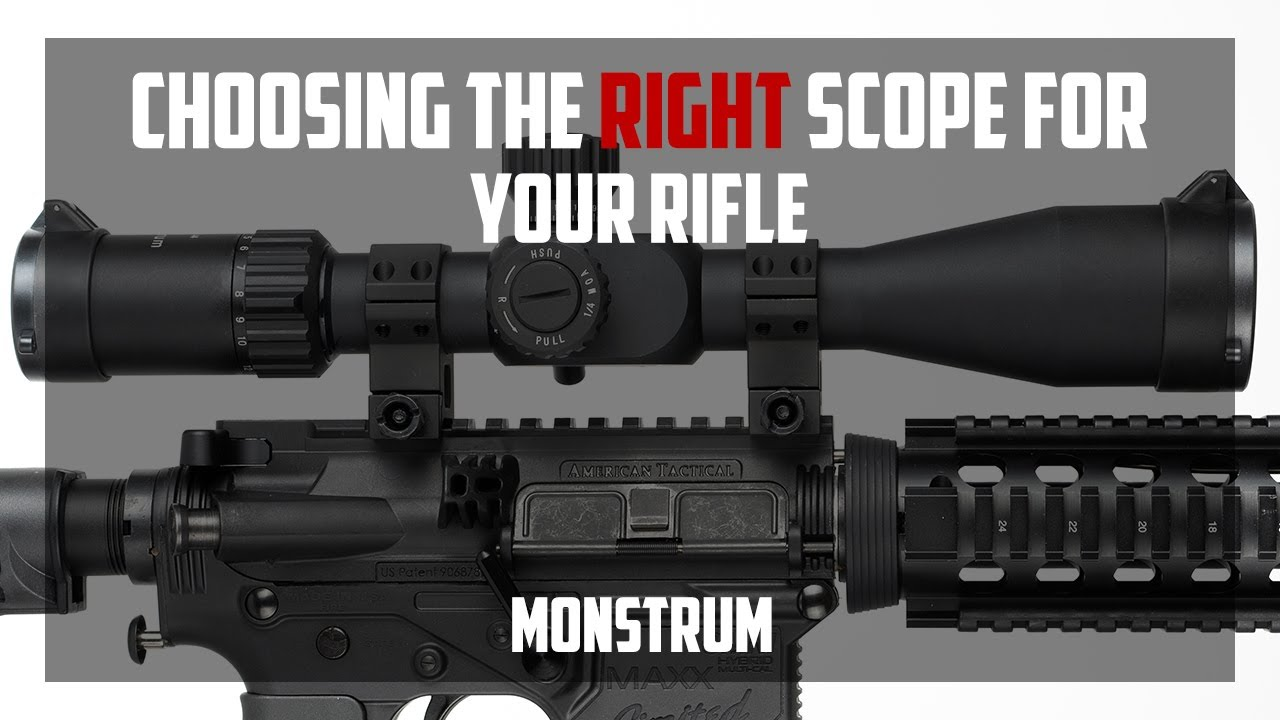 How to choose and target a rifle scope for a carbine 78