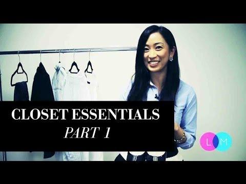 Fashion Closet Essentials - Part 1, closetessentials