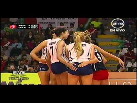 Peru x USA 4,5set FIVB Women's Junior 2011