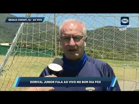 DORIVAL MANDA RECADO PARA ABEL E TORCIDA DO FLAMENGO