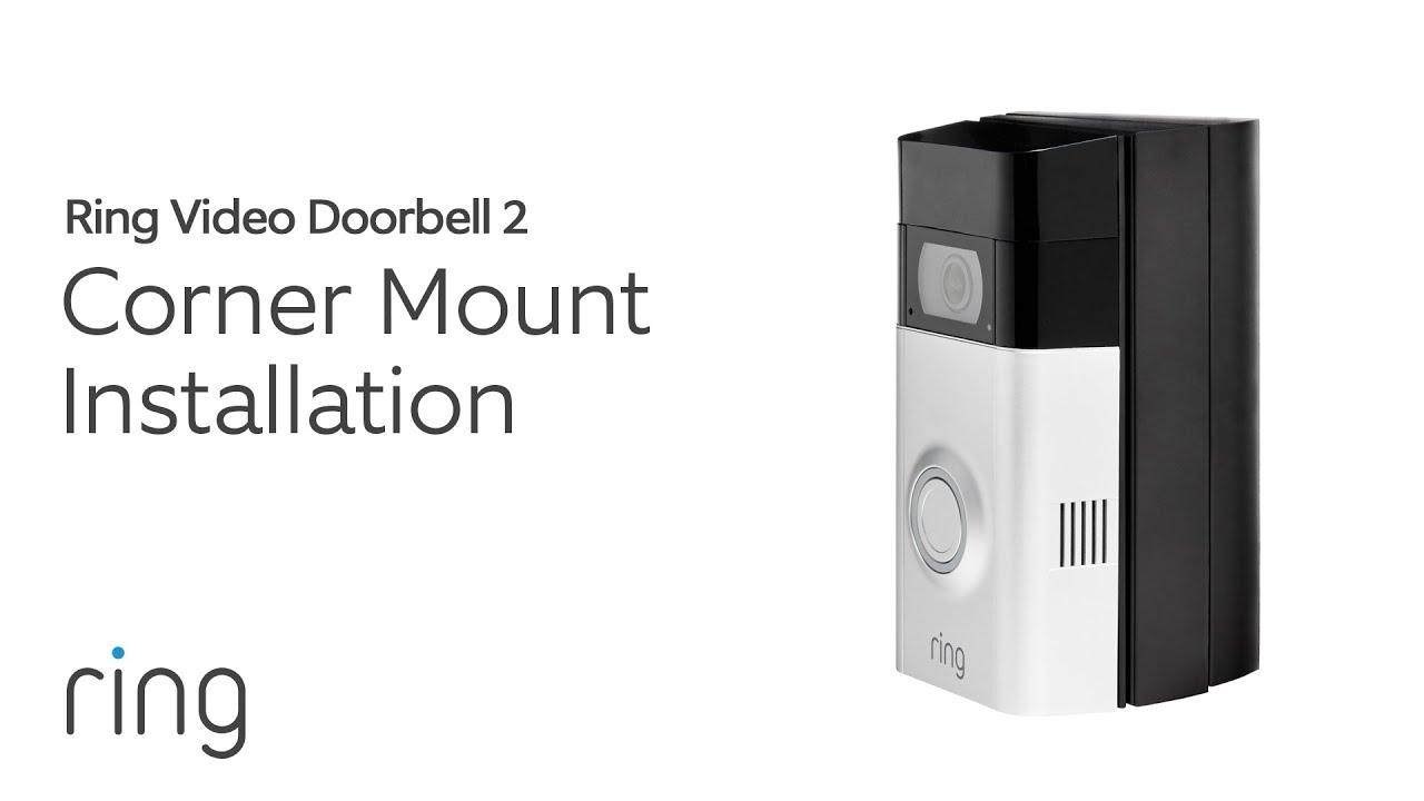 Ring Video Doorbell 2: Corner Mount Installation on