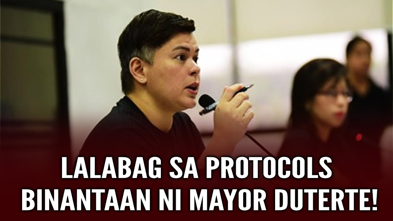 PANOORIN! CITY WORKERS NA LALABAG SA PROTOCOLS BINANTAAN NI MAYOR DUTERTE!