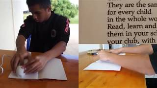 Reading Printed Text-to-Braille with ReadRing