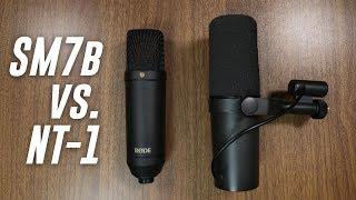 Shure SM7b vs Rode NT1 Comparison (Versus Series)