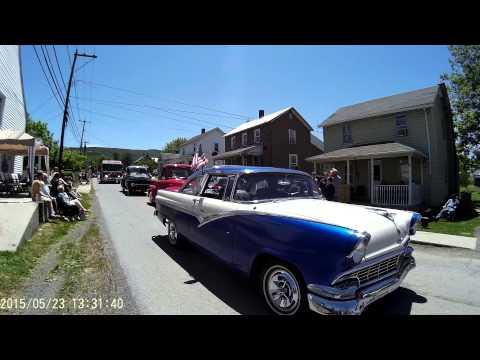 Paw Paw West Virginia Memorial Day Parade 2015