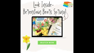 A Look Inside- &quotSpring with the Berenstain Bears&quot Homeschool Book Guide by Love at Home Education