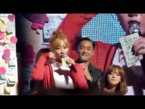 151011 AOA Heart Attack in HK Yuna 유나애교