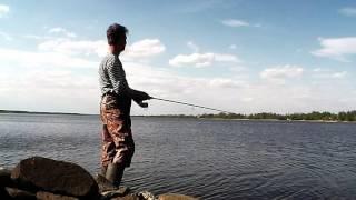 видео Рыболовные базы калязинского района