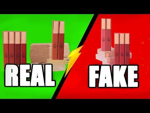 Cách phân biệt Son 3CE Cloud Lip Tint Thật - Giả (Auth - Fake)