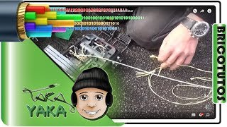 5/7 ⏩ Fibre optique raccordement du boitier répartiteur du regard extérieur