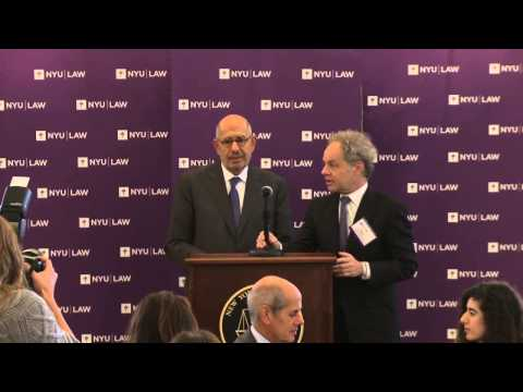 Hauser Global Law School Program 20th Anniversary: Mohamed ElBaradei
