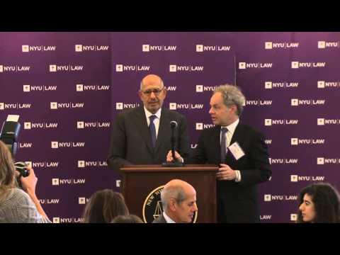 Hauser Global Law School Program 20th Anniversary: Mohamed ElBaradei