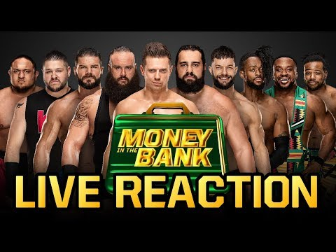 WWE Money in the Bank 2018 LIVE REACTION
