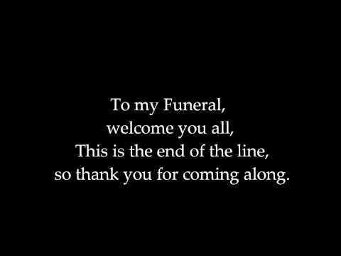 Dope - My Funeral [Lyrics]