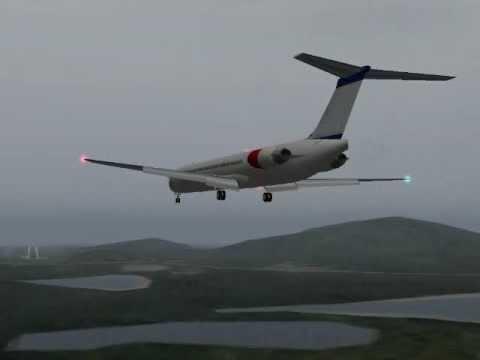 Phuket, crash One-Two-Go Air MD 82 OG269 accident  NTSB animation