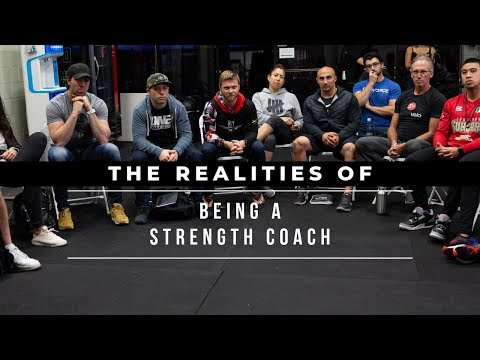 The Realities Of Being A Strength Coach