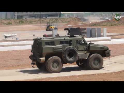 KADEX 2016 live demonstration Kazakhstan armed forces Special Forces counter-terrorism operation