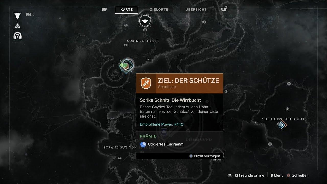 Destiny 2 Raid Karte.Destiny 2 Forsaken 010 Story Mission 10 Ziel Der Schutze Abenteuer Hd Ps4