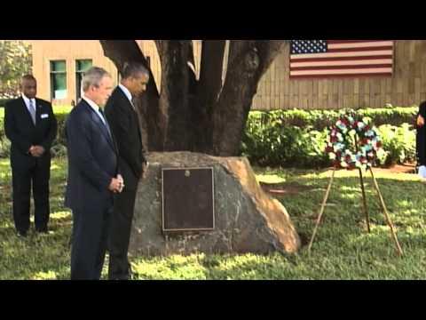 Obama, Bush Mark Tanzania Embassy Attack