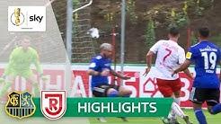1. FC Saarbrücken - Jahn Regensburg 3:2 | Highlights - DFB-Pokal 2019/20 | 1. Runde